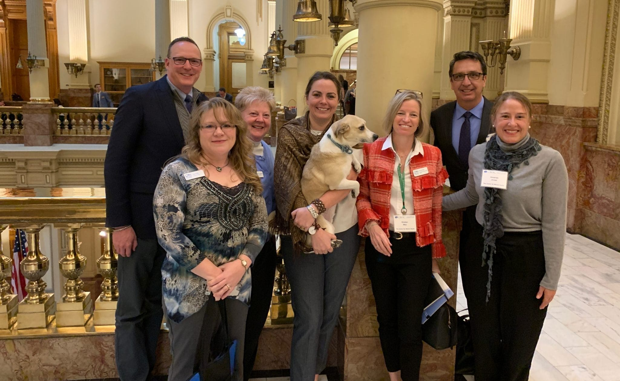 CMH Visits State Capitol for CBHC Annual Lobby Day