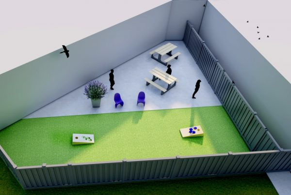Our Future Courtyard (rendering)